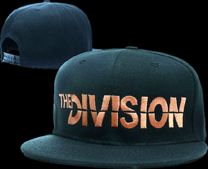 5cf2089714a Tom Clancy's The Division Logo - Adjustable Snapback Caps
