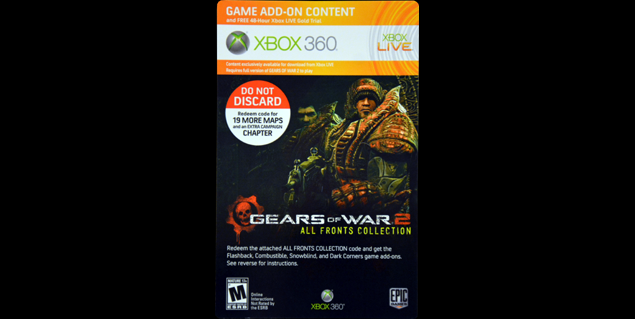 Gears of War 2: All Fronts Collection Game Guide for Xbox 360 on call of duty: modern warfare 2, gears of war 4 pc, gears of war realistic, gears of war pink, the elder scrolls v: skyrim, halo: combat evolved, marcus fenix, batman arkham asylum 2 pack, forza horizon 2 pack, gears of war charger, gears of war masks, evolve 2 pack, gears of war light, halo: reach, borderlands 2 pack, call of duty: modern warfare 3, gears of war 4 pack, dead space pack, call of duty 4: modern warfare, gta 2 pack, gears of war latex, starcraft 2 pack, call of duty, gears of war 3 pack, epic games, call of duty: black ops, mass effect 2, god of war, mass effect, star wars 2 pack, far cry 2 pack, bioshock 2 pack, gears of war 3, gears of war combo pack, halo 3: odst, call of duty: world at war,